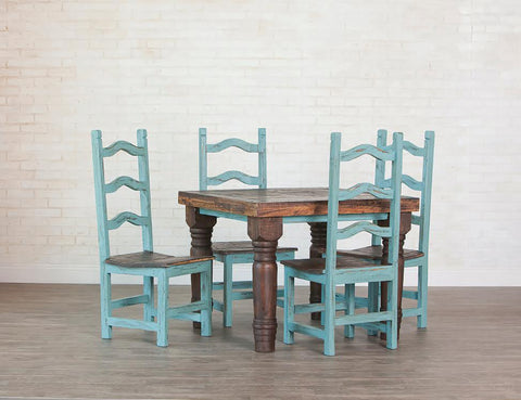 "Rustic Square Dining Table; 40"" x 40"""
