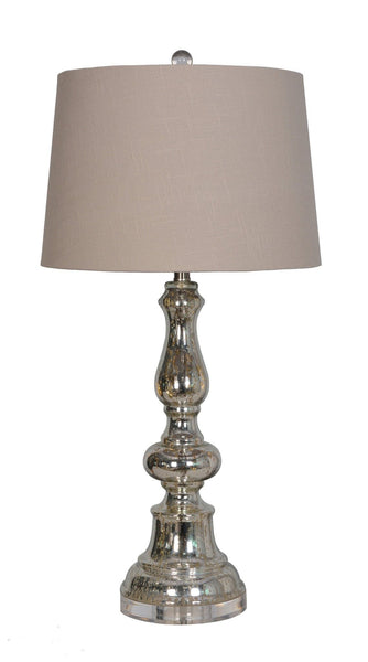 Webster Glass Table Lamp - Furnlander