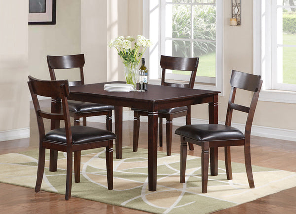 Dining Table Set; 5PCS. SET