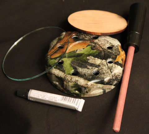 Kid Magic Game Calls Pot Call Kit Camo