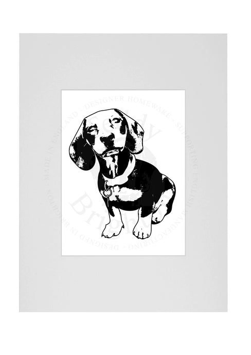 Digital Pet Pawtrait Upgrade - 9 x7 MOUNTING SERVICE