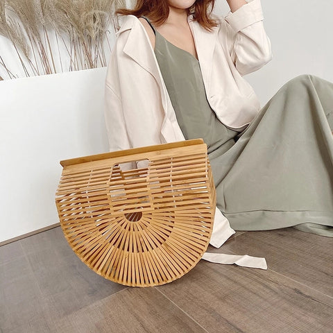 Bamboo Clutch Purse