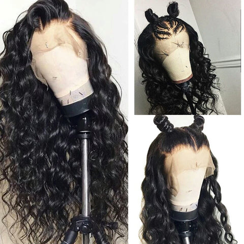 360 Lace Frontal Loose Deep Wave Human Hair Wig