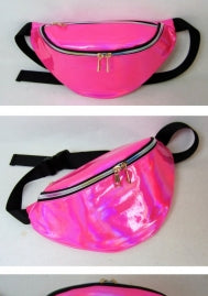 Neon and Laser Fanny Packs