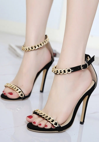 Stilettos Open Toe High Heel