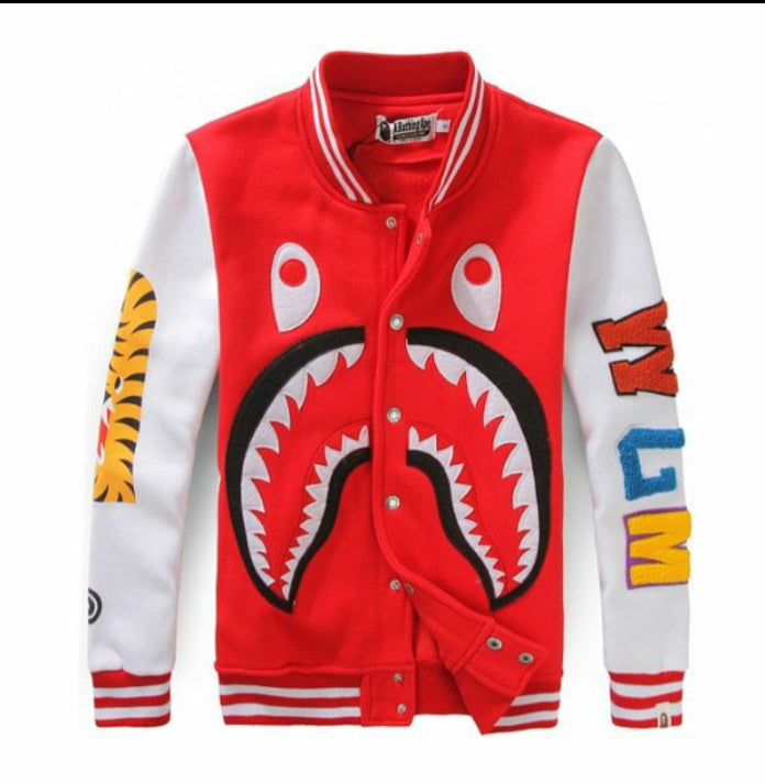 Shark Tiger Cartoon Jacket