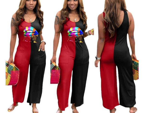 Sexy Lips Jumpsuit