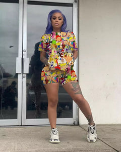 Cartoon Character Two Piece