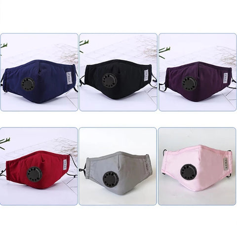 PM2.5 Anti Pollution Respirator Washable Mask