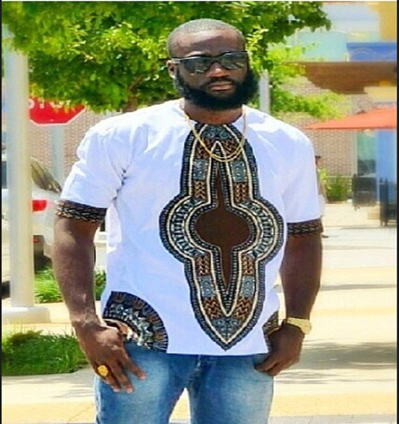 African Short Sleeve Shirt