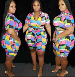 Plus Size MultiGirl Two Piece