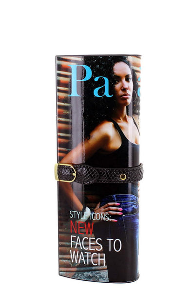 PAPARAZZO MAGAZINE CLUTCH