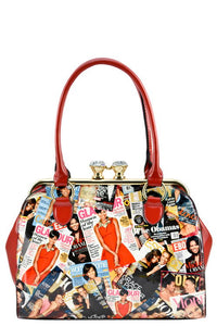 DESIGNER PATENT MICHELLE OBAMA FRAME BAG