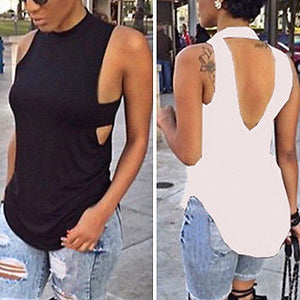 Hot Sexy Womens Fashion Summer Vest Sleeveless Blouse Casual Tank Top