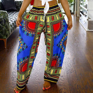 Dashiki Women Fitness Yoga Loose Pants