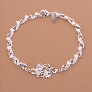 FREE Butterfly Silver Rolo chain bracelet with purchase of $50 or more . Or FREE with shipping and handling.