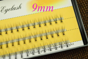 Natural Long Black Individual Eyelashes Eye Lash Extension