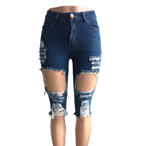 Denim Hotpants Jeans