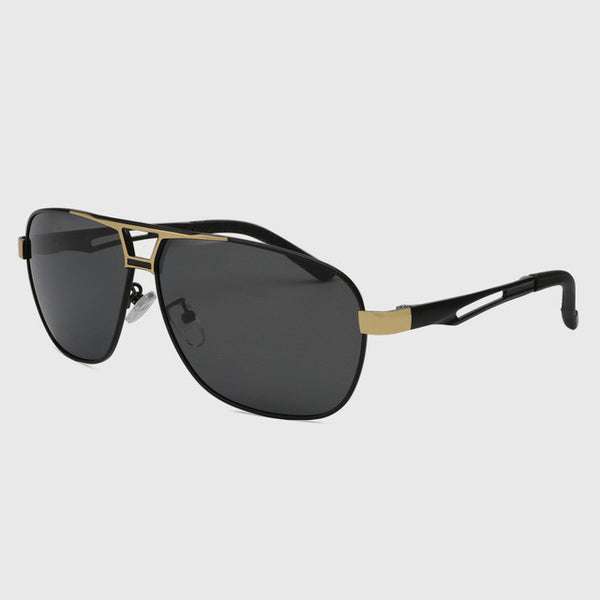 Polarized Men Retro Pilot Driving Sunglasses