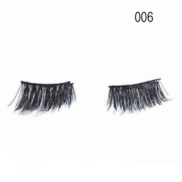 Magnetic Natural Eyes Lashes Extension 1 Pair