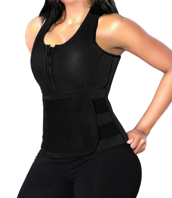 Plus Size Waist Trainer Neoprene Sauna Sweating Vest Tank