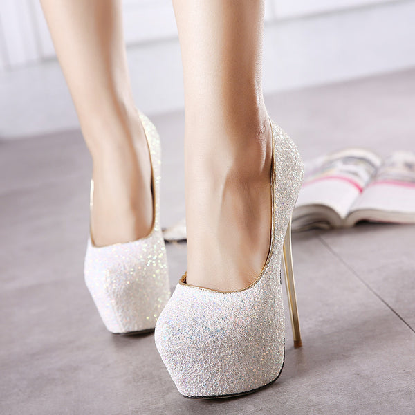 Ultra High Stiletto Heels Shoes