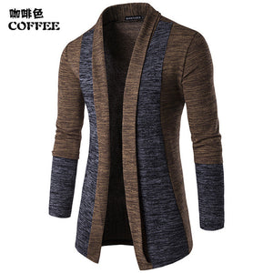 Cardigan Casual Male Cotton Sweater