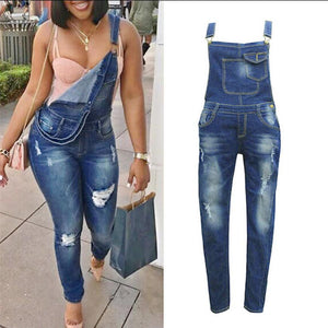 Women and Plus Size Overalls Jeans