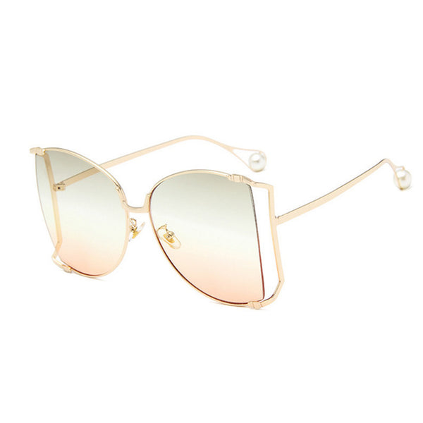 Oversized Pearl Women UV400