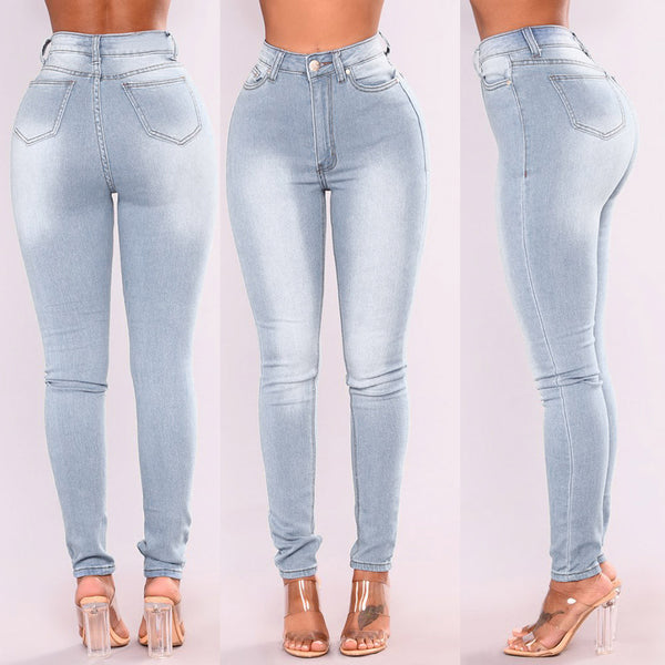 Skinny High Waist Pencil Pants