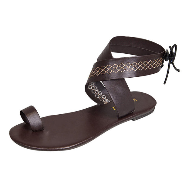 Women Cross Belt Flip Flops Sandals