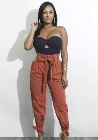 High Waist Fashion Pants