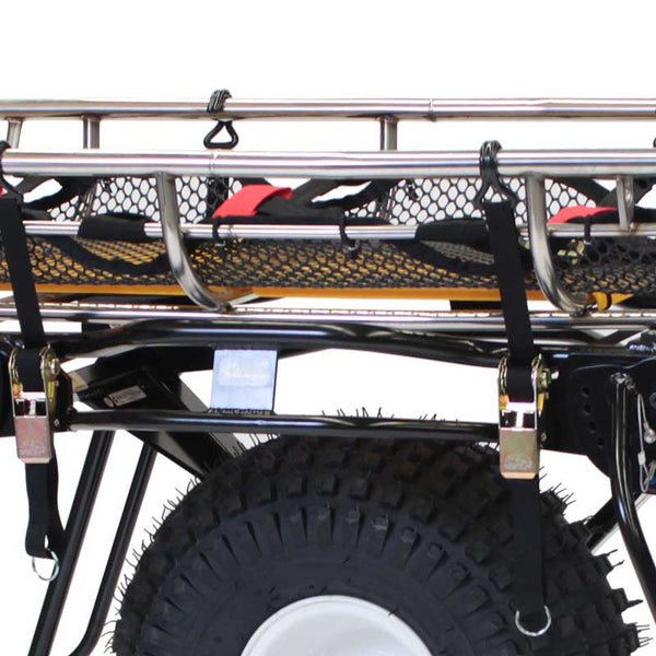 Traverse Rescue -  Mule I-II Litter Wheel Tie-down Straps with Hooks