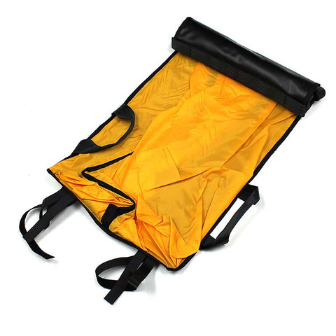 Traverse Rescue - Basket Stretcher Patient Cover with Zip & Handles, Black/Orange