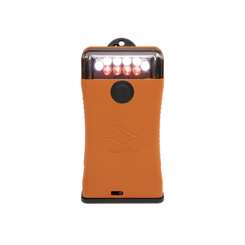 FOXFURY - SCOUT CLIP LIGHT WITH WHITE AND RED LEDS