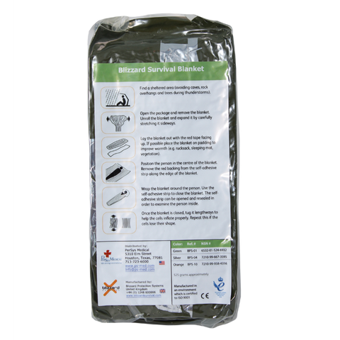 PerSys Medical - Blizzard Survival Blanket
