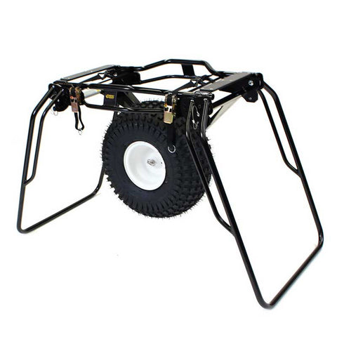 Traverse Rescue -  Mule II Litter Wheel with 8 Position Handles, Noir