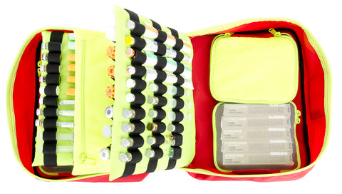 STATPACKS - G3 FIRST AID QUICKROLL INTUBATION KIT - Rouge