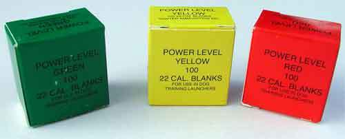 Line Launchers - Power Loads (Box of 100)