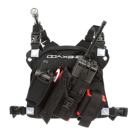 COAXSHER - RCP-1 Pro Radio Chest Harness