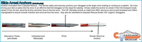 Cascade Rescue - Slide Arrest Anchor (patent pending)
