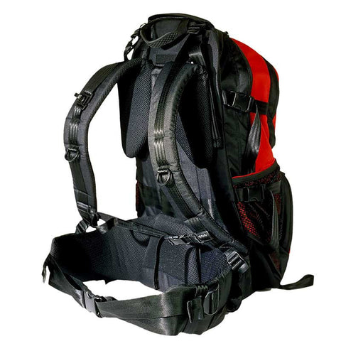 Traverse Rescue - Kigali 35 L Backpack, Black/Red