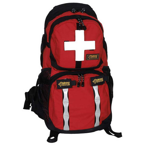 Traverse Rescue - Kigali 30 L Backpack, Red/Black