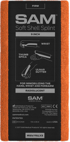 SAM MEDICAL - SAM Soft Shell Splint