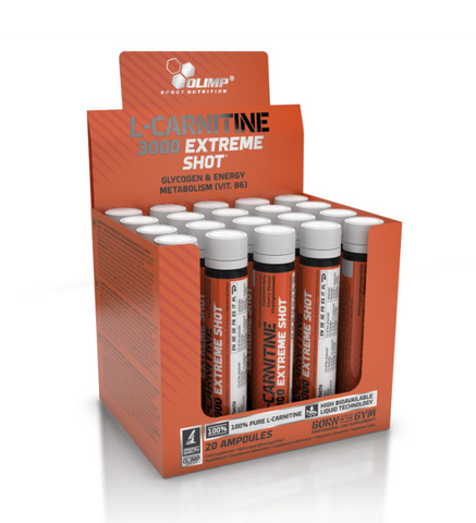 L Carnitina | Olimp Sport Nutrition | L Carnitine 3000 Extreme Shot