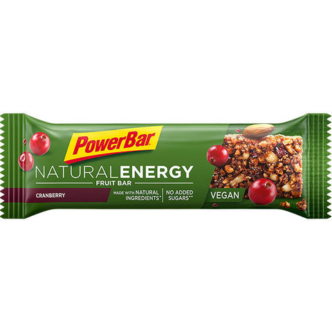 PowerBar natural energy cereal - strawberry & cranberry (24buc/cutie)