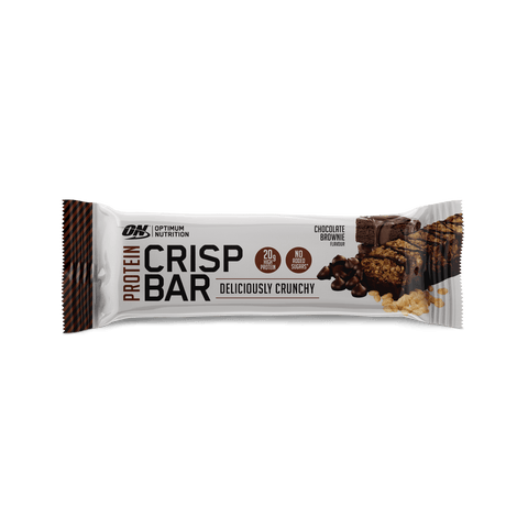 batoane proteice optimum nutrition romania crisp bar chocolate brownie