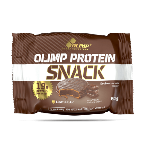 Olimp Sport Nutrition | Protein Snack double chocolate, 12x 60 g