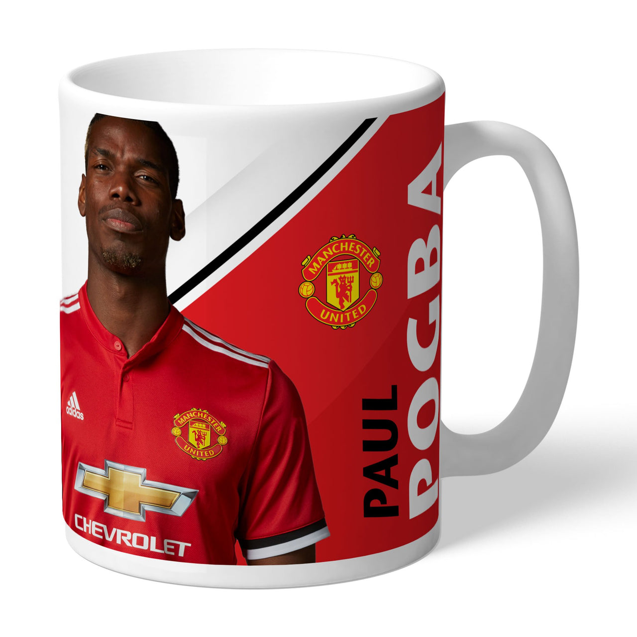 Manchester United FC Pogba Autograph Mugs, Gifts