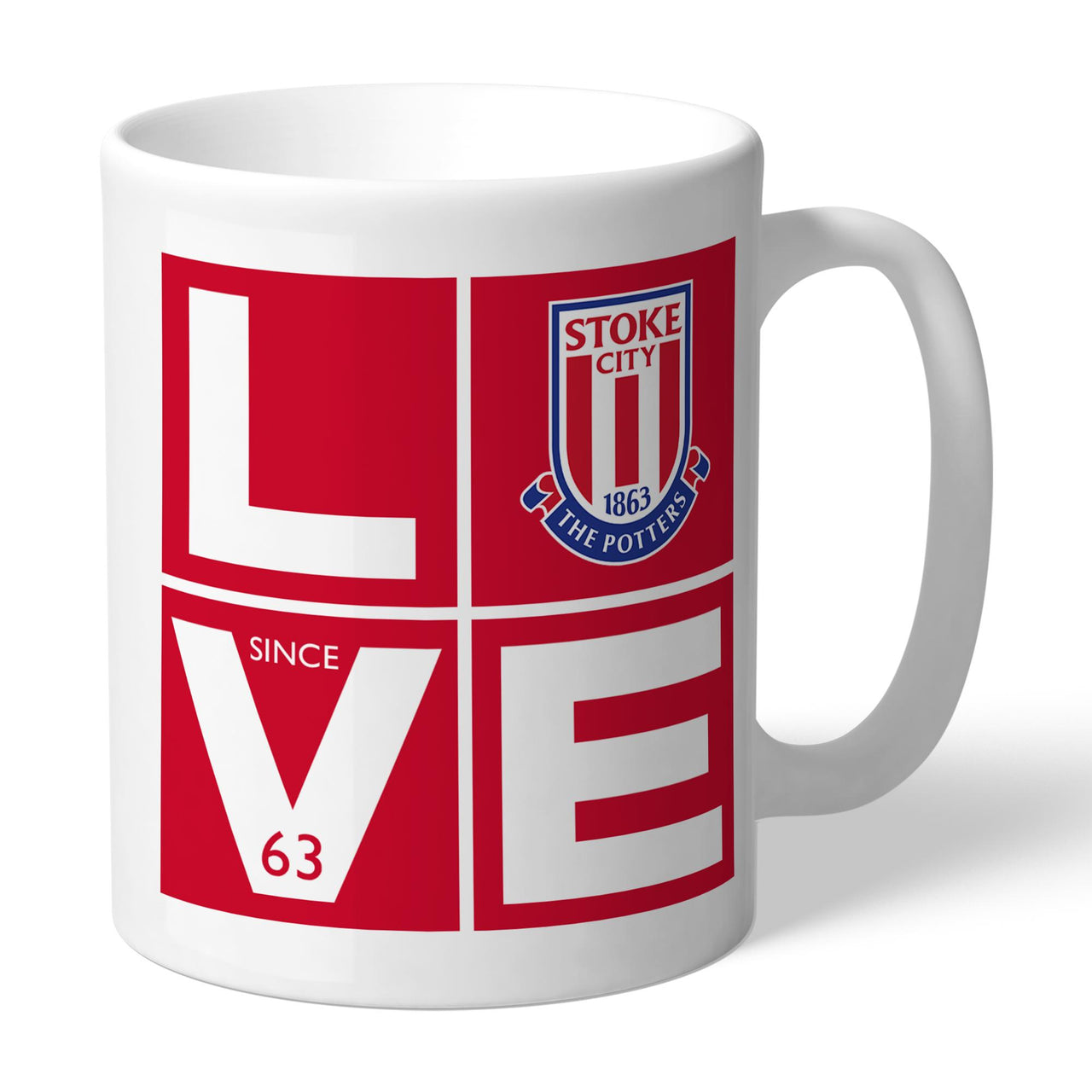 Stoke City FC Love Mugs, Gifts